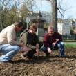 Aussaat der Wildpflanzenmischung / Betrieb Heiner Bucheli, Gailingen am Hochrhein (Foto: J. Goedecke)