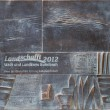 Bronzetafel Landschafft 2012 (Visualisierung)