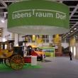 Der Stand der Deutschen Stiftung Kulturlandschaft in der Gemeinschaftsschau LebensTraum Dorf