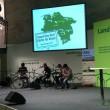 Die Band 'Who killed Frank' auf der Bühne in Halle 4.2