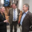 Stephanie Egerland-Rau mit Dr. Klaus-Dieter Kleefeld und Prof. Ulrich Riedl (Foto: H. Schacht)