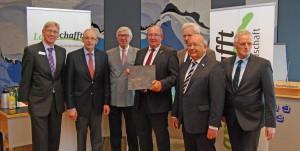 """Verleihung des Preises """"Kulturlandschafft 2015"""" an den Kreis Nor"""